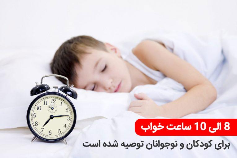 تاثیر خواب بر تحصیل دانش آموزان